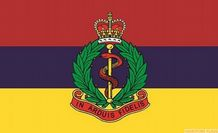 ROYAL ARMY MEDICAL CORPS - 5 X 3 FLAG